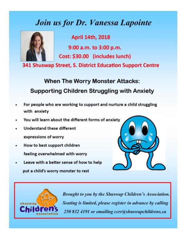Anxiety Workshop