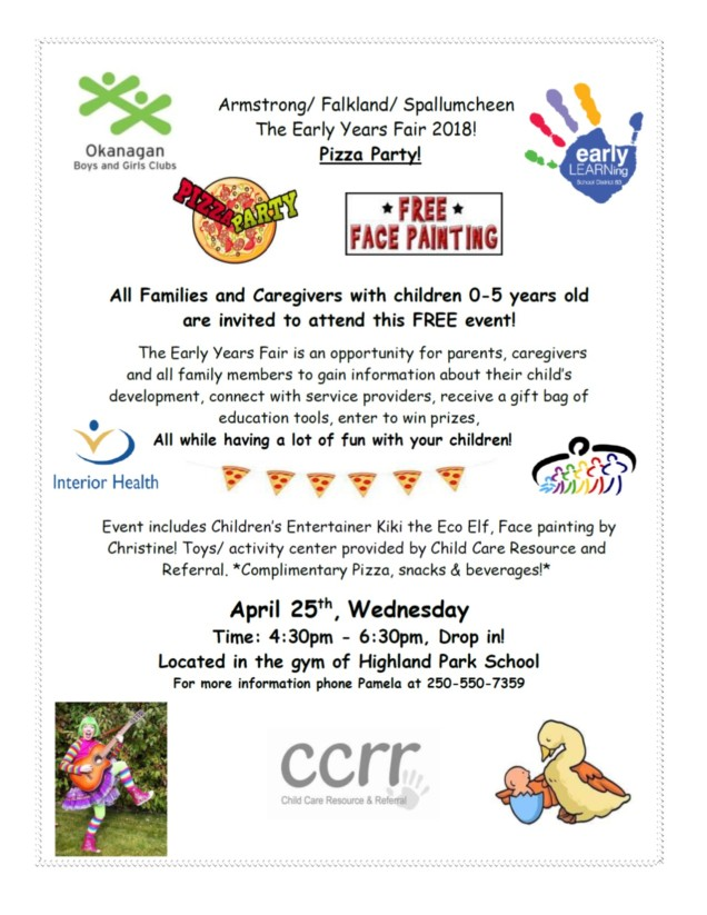 Early Years Fair 2018