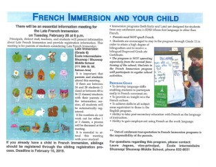 late french immersion flier 2