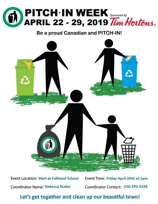 Pitch In Event Poster