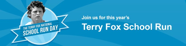 Springwood's Terry Fox Run: Sept 26th